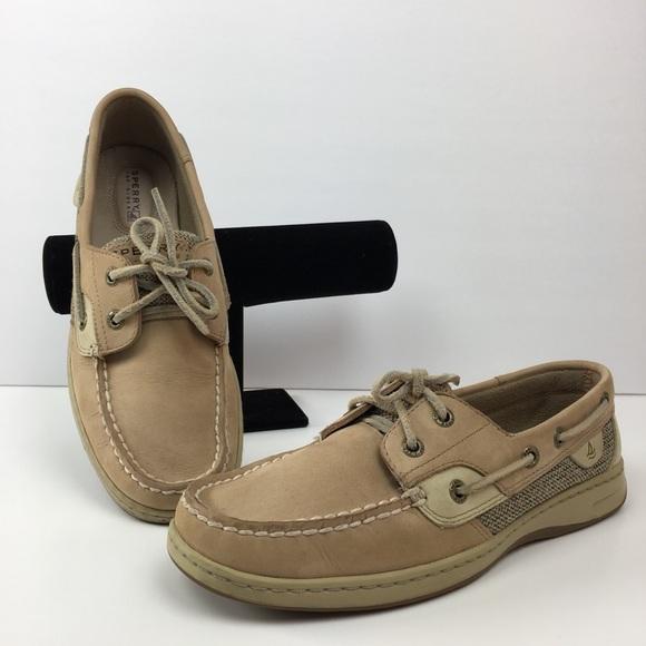 bd32c8bd18 Sperry Top Sider Tan Boat Shoe-Size 7.5. M 5c5e3ffb8ad2f996e54de033